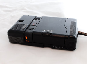 Konica Recorder back