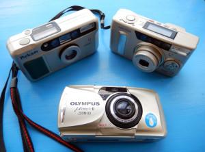 Samsung Vega 77i, Olympus MJU II ZOOM, Rekam MiniQ