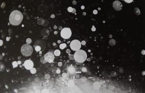 Снежная ширма