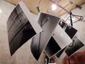 отпечатки на баритовой бумаге
