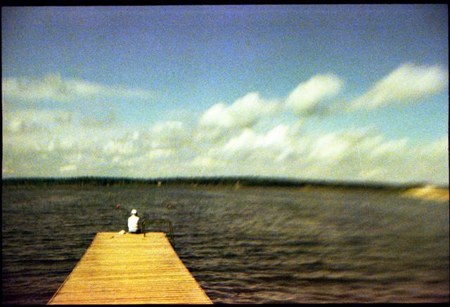 Озеро Сенеж. 2011 год. Эксперименты с кросс-процессом и линзами