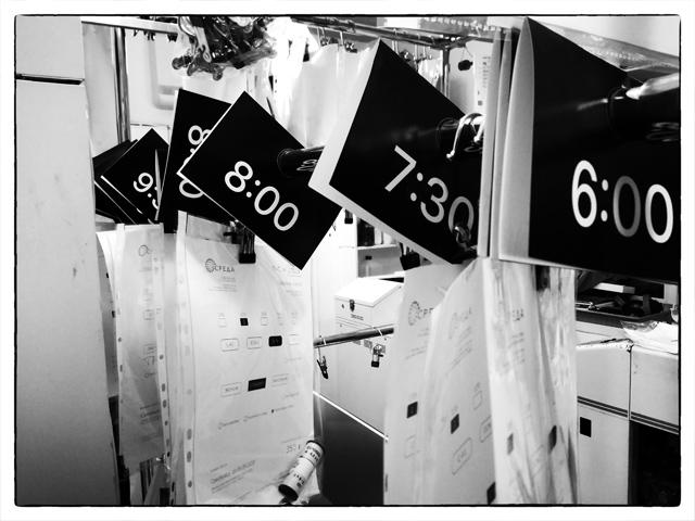 Черно-белые пленки с разным временем проявки