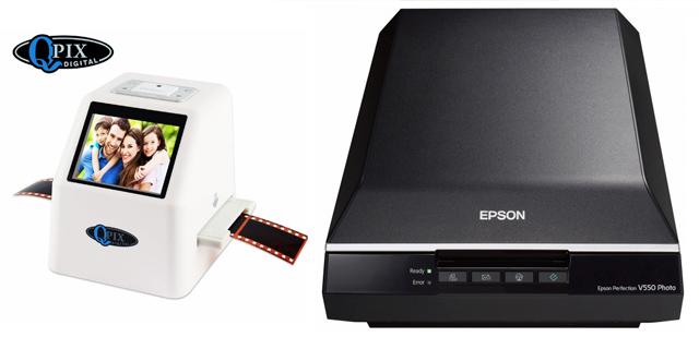 Epson Perfection V550 и Qpix