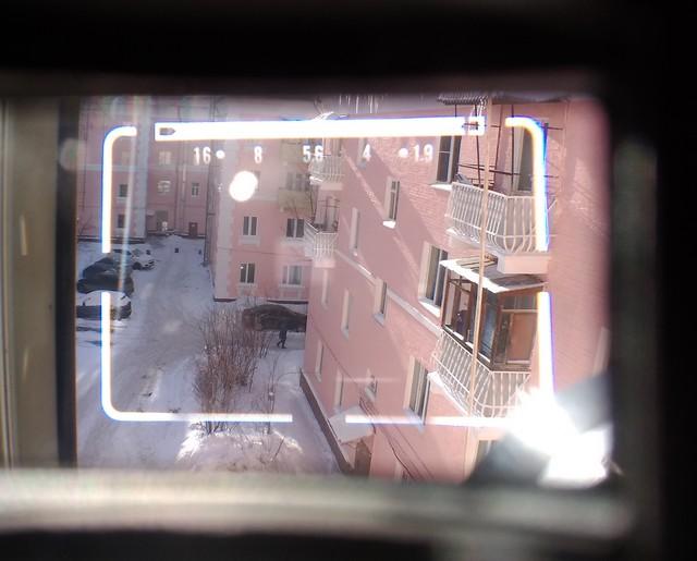 Видоискатель дальномерной камеры Canon Canonet QL19