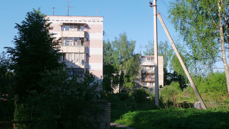 Дома недалеко от Миронцево