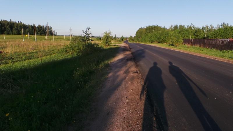 Шоссе от деревни Новая до Пятницкого шоссе