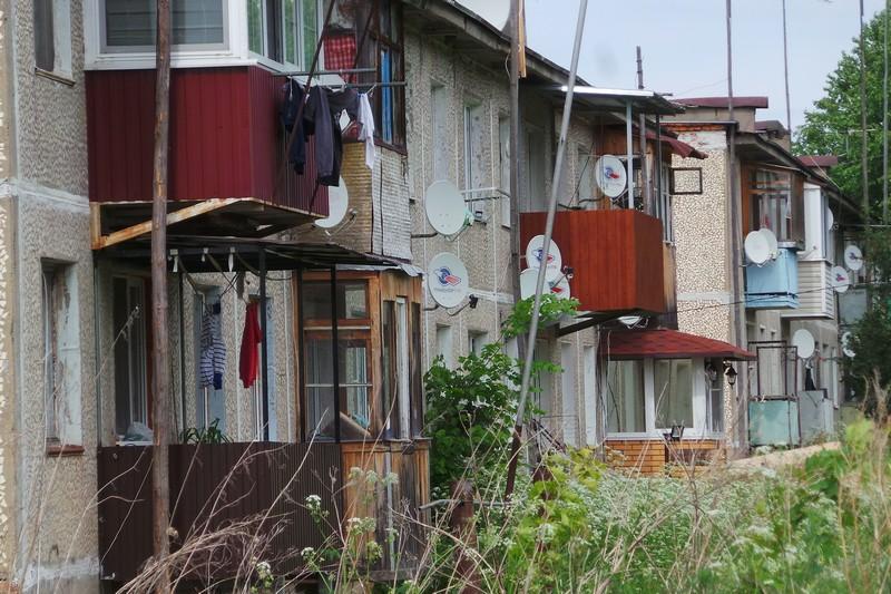 Два малоэтажных дома деревни Тараканово