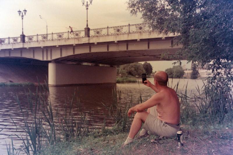 Прыжки в Коломенку с моста и микроблогинг