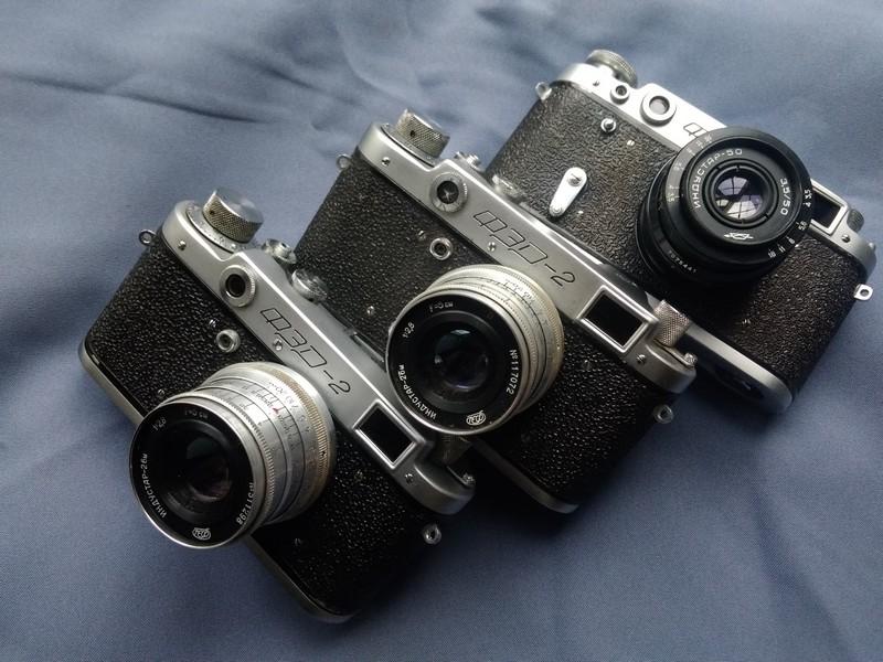 Фотоаппараты ФЭД-2