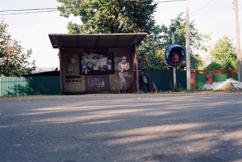 Конечная остановка автобуса № 22 Солнечногорск – Хметьево
