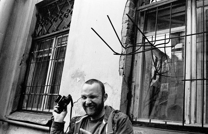 Портрет друга во время визита Санкт-Петербурга, 2014 год