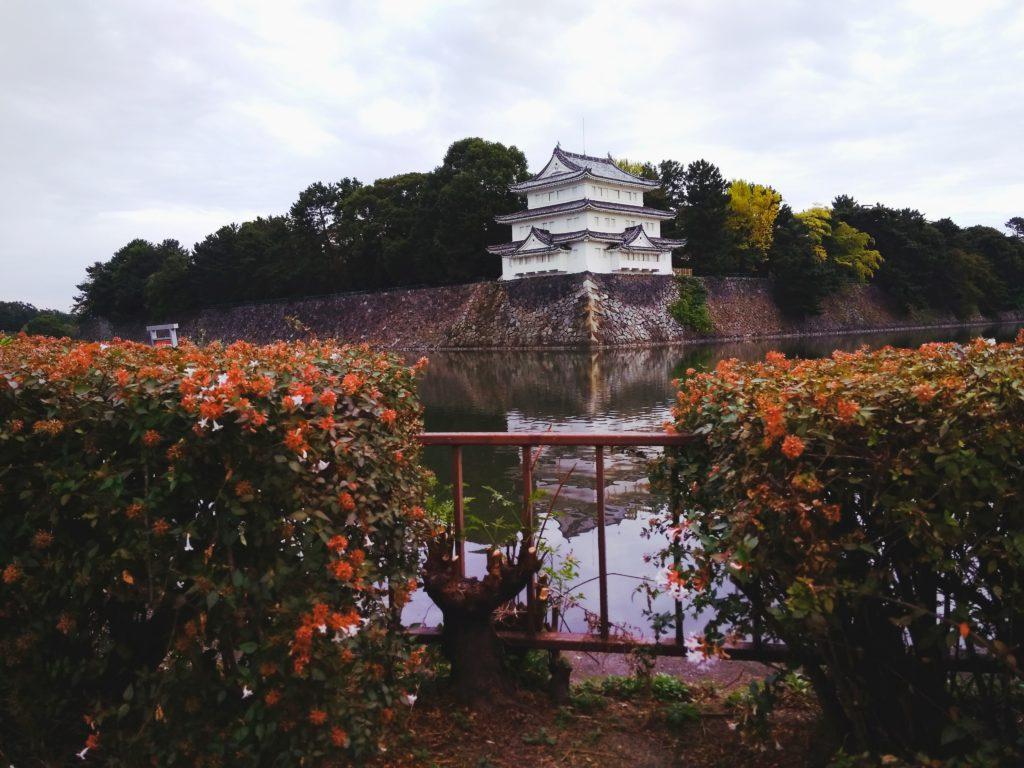 Вид на замок города Нагоя
