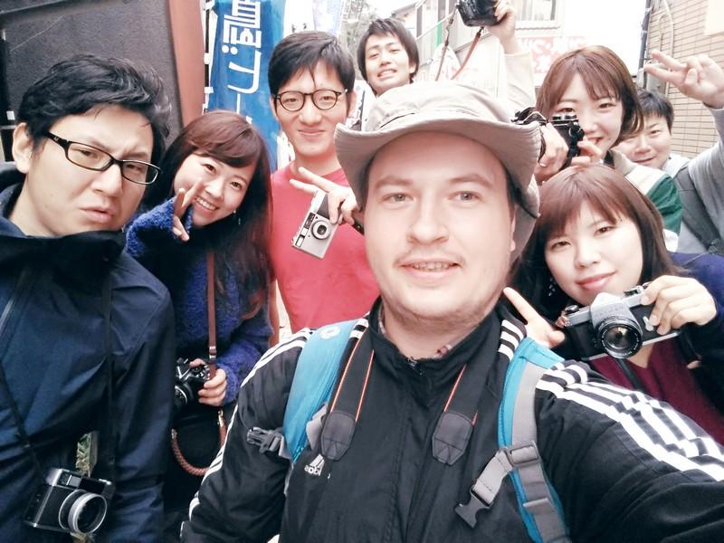 Селфи с группой пленочных фотографов