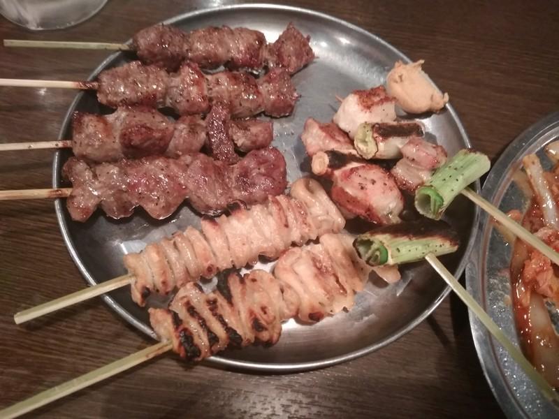 Шашлычки в японском стиле - отличная закуска к пиву, виски и саке
