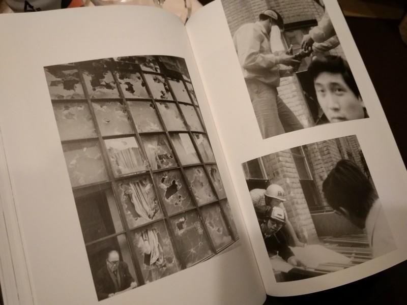 Страница из Книги Michiko Sasaki Shinjuku - People of Golden Gai