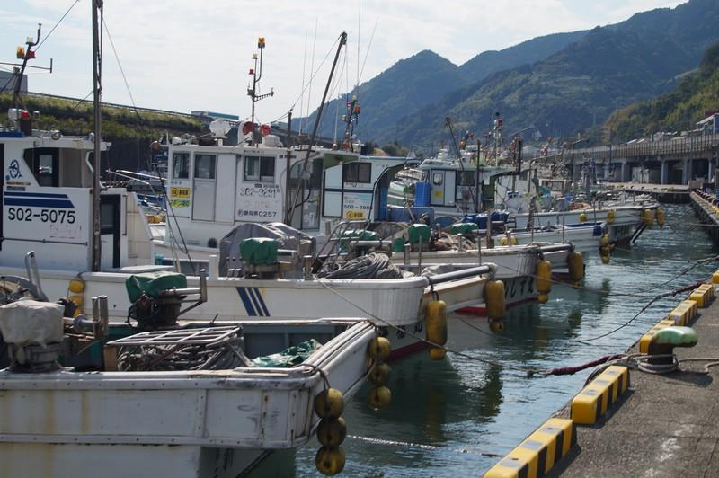 Рыболовецкие суда порта Юи