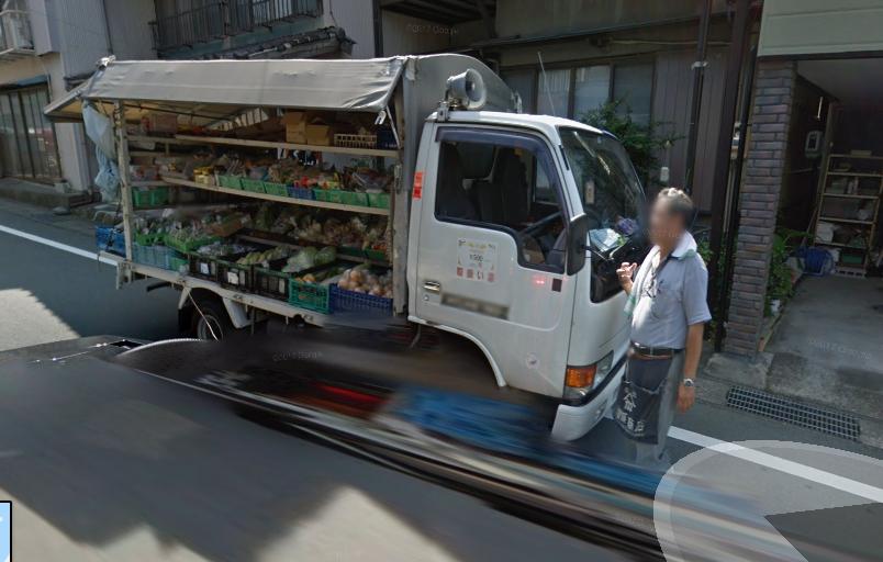 Та самая автолавка. Снимок сделан из гугл карт