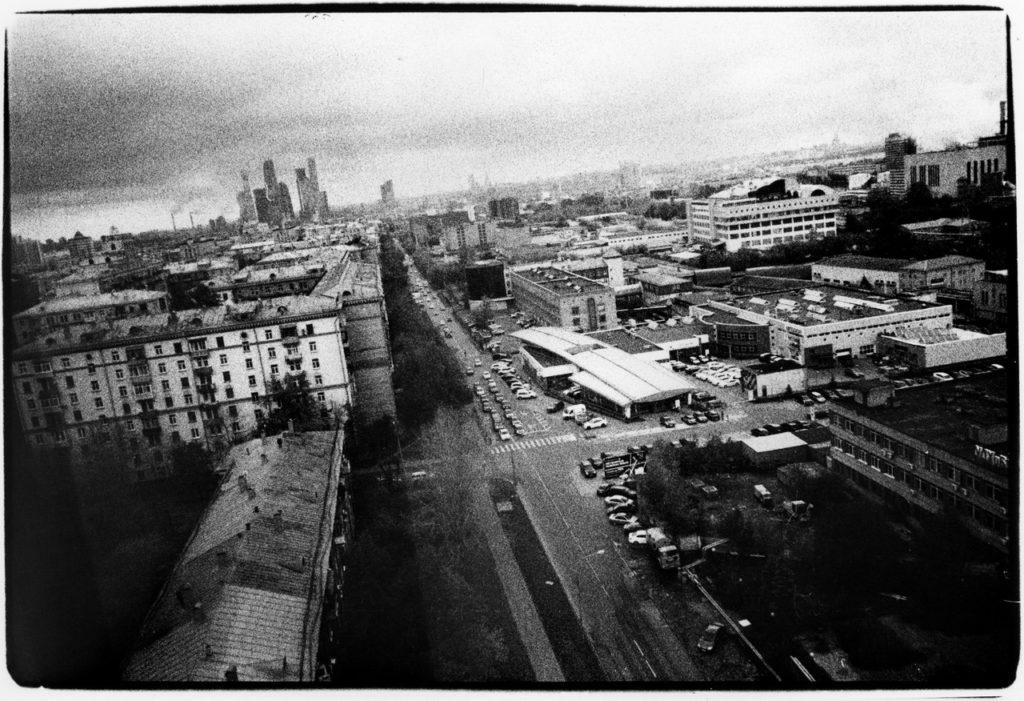 Вид на центр Москвы с Северо-Запада