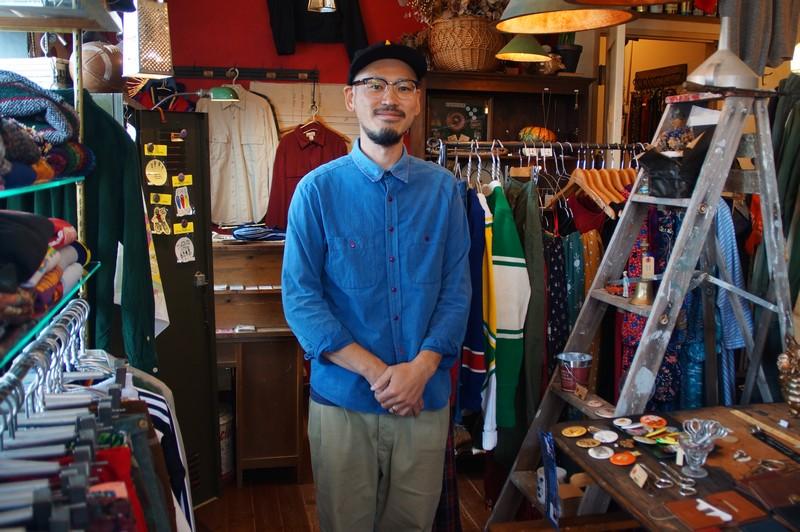 Юдзи Ямамото - владелец магазина винтажной одежды из Америки.