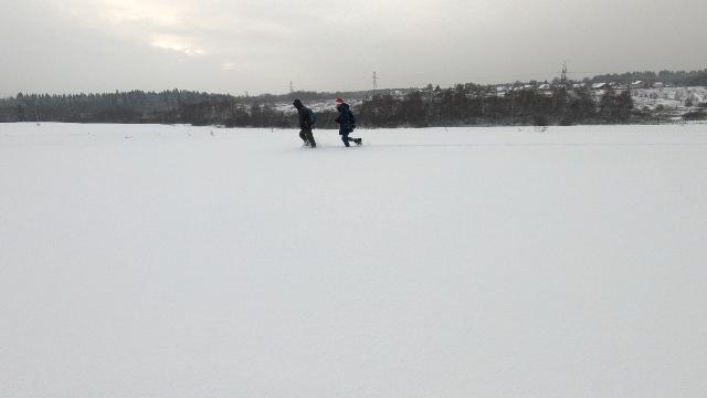 Зимняя фотопрогулка с Киев-6С