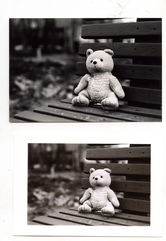 Монохромное изображение с Canon Selphy CP1300 и фотолабы
