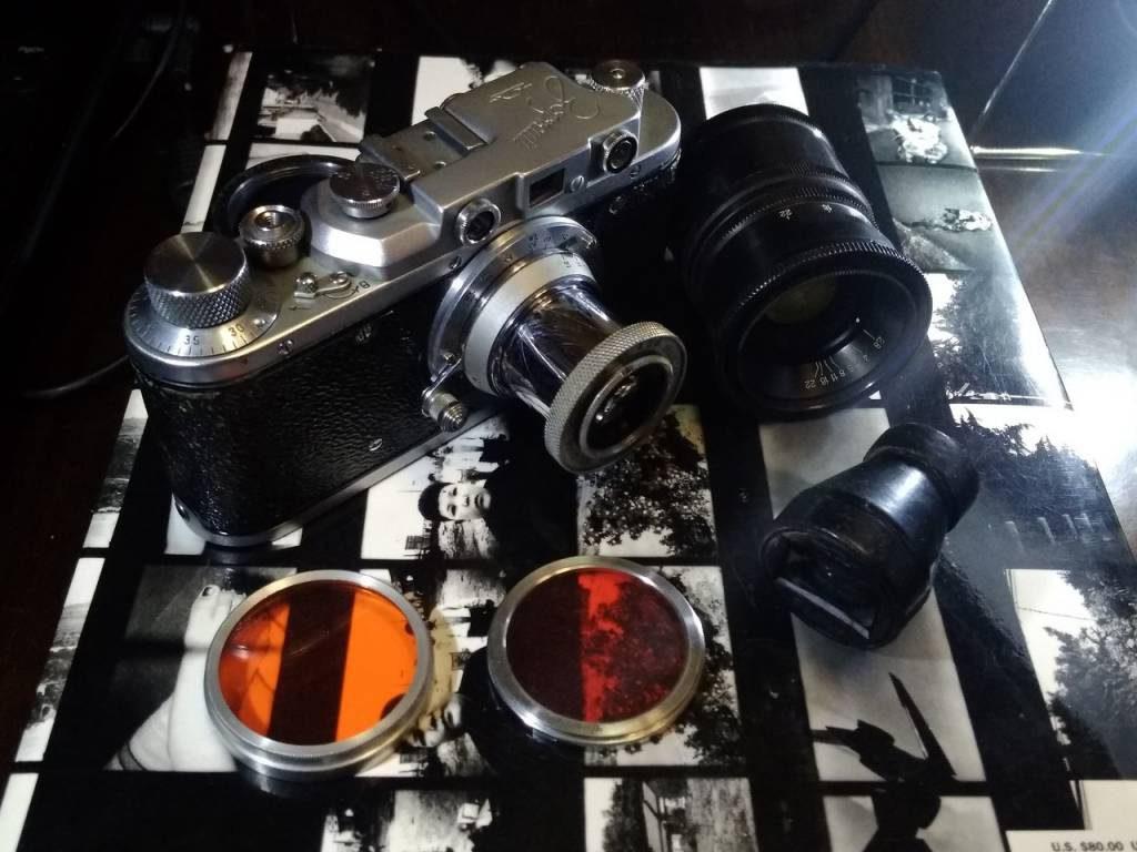 фотоаппарат Зоркий 1955 года выпуска