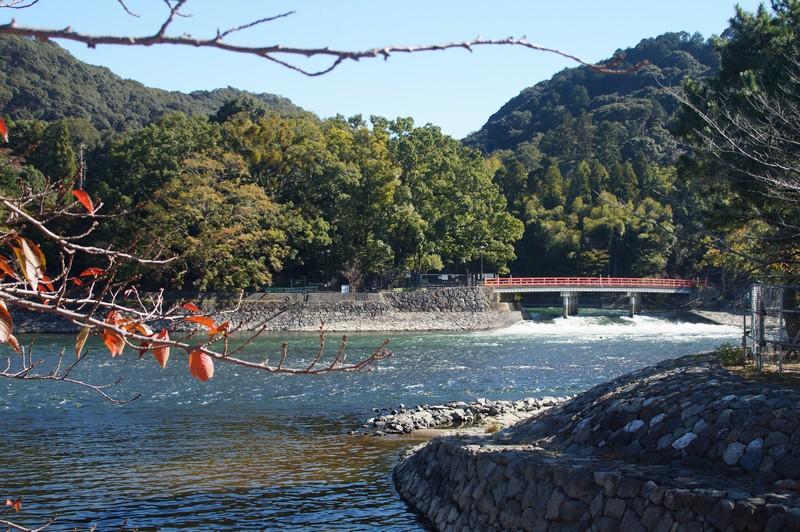 красивый вид реки Удзи