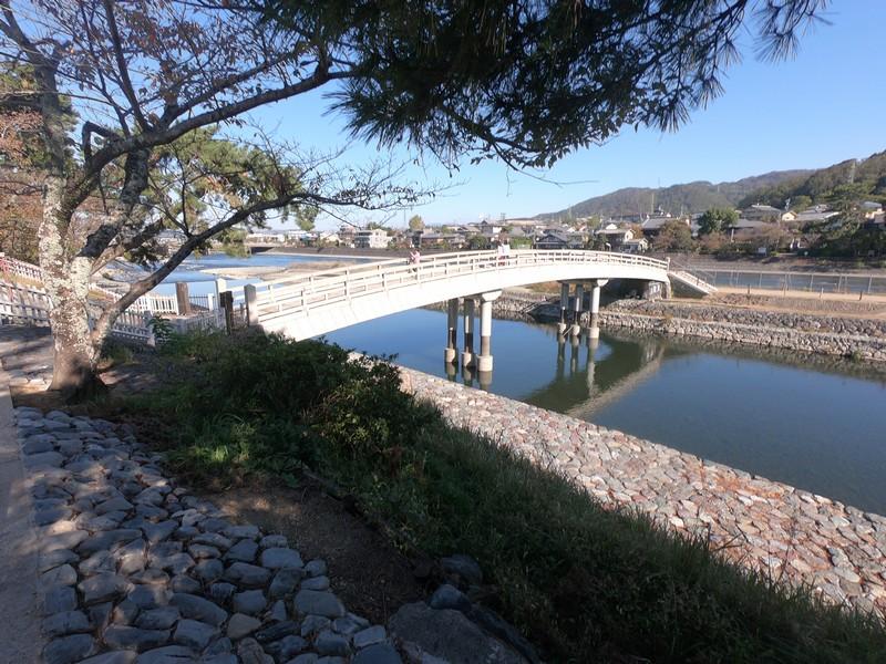 Альтернативный вид на реку Удзи