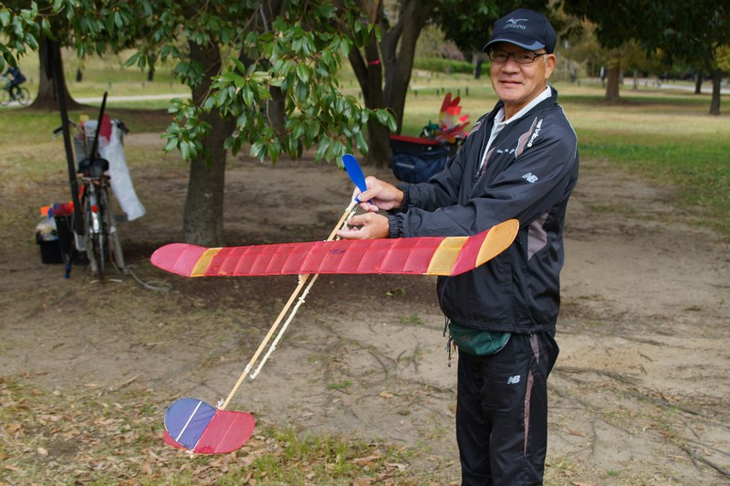 Японский пенсионер города Сакаи, Япония