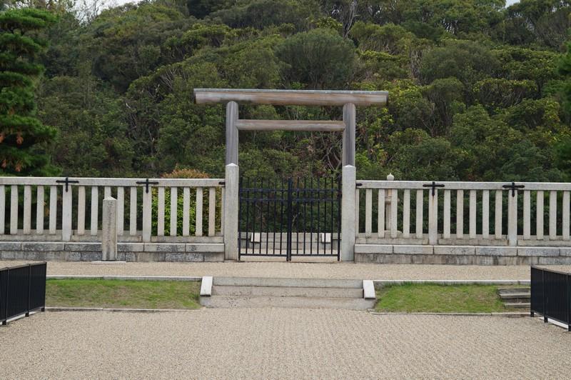 Сакаи, Япония. Префектура Осака. Гробница императора