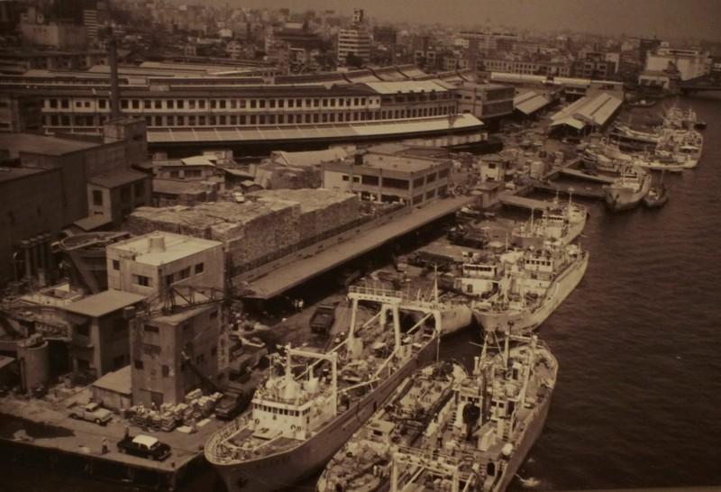 Вид на рынок после большой реконструкции 50х годов