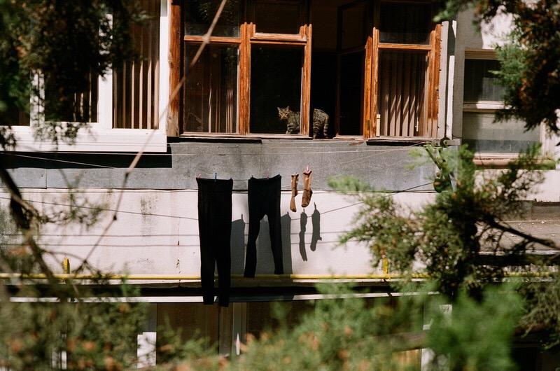 Спальный район Ялты недалеко от Ялтинской киностудии