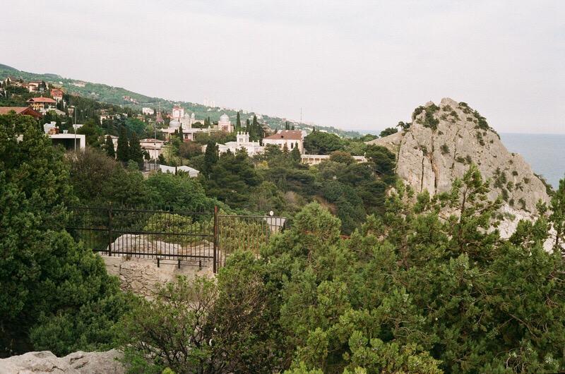 Вид на город Симеиз