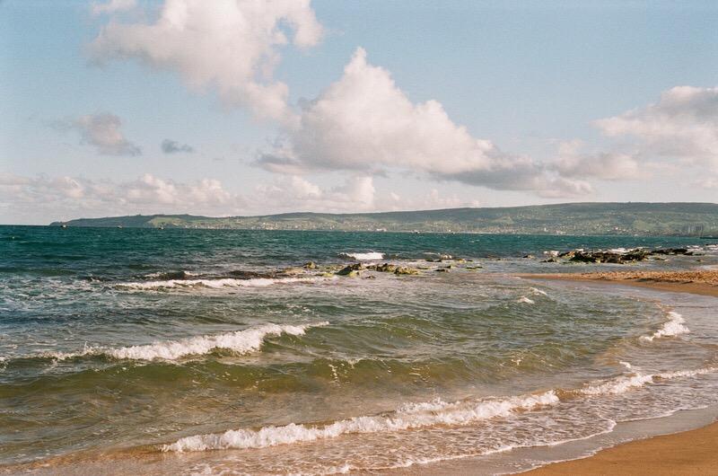 Побережье чёрного моря близ Феодосии