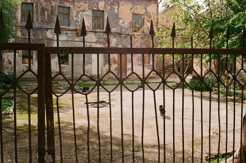 Старые дворы Феодосии.