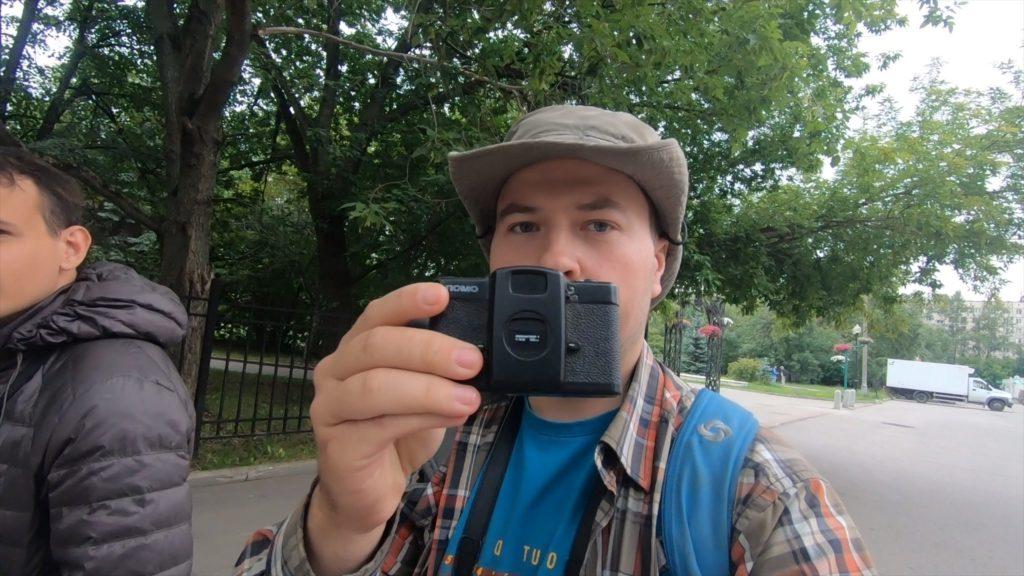 Прогулка с Lomo LC-A и пленкой Fujifilm Acros 100 в Москве