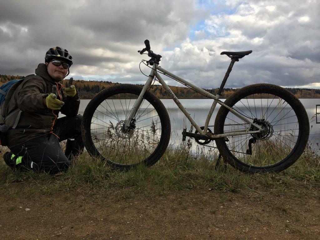 Вместе с велосипедом Shulz Lone Ranger