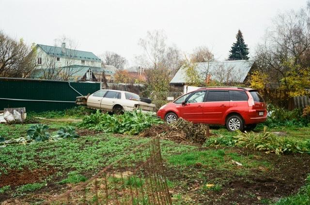 Солнечногорск, ЦМИС. Два старых автомобиля
