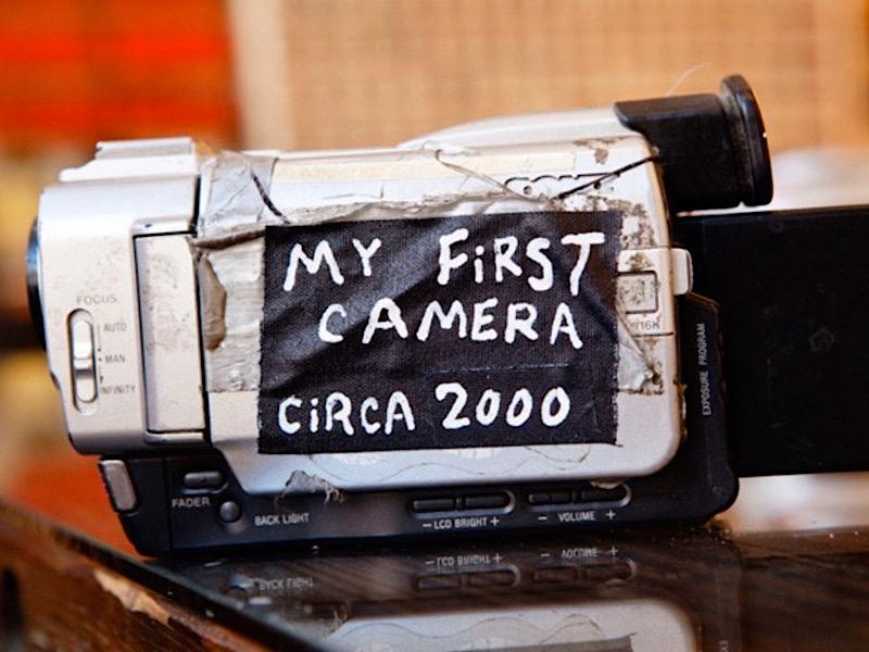 Первая видеокамера Кейси, которая до сих пор работает