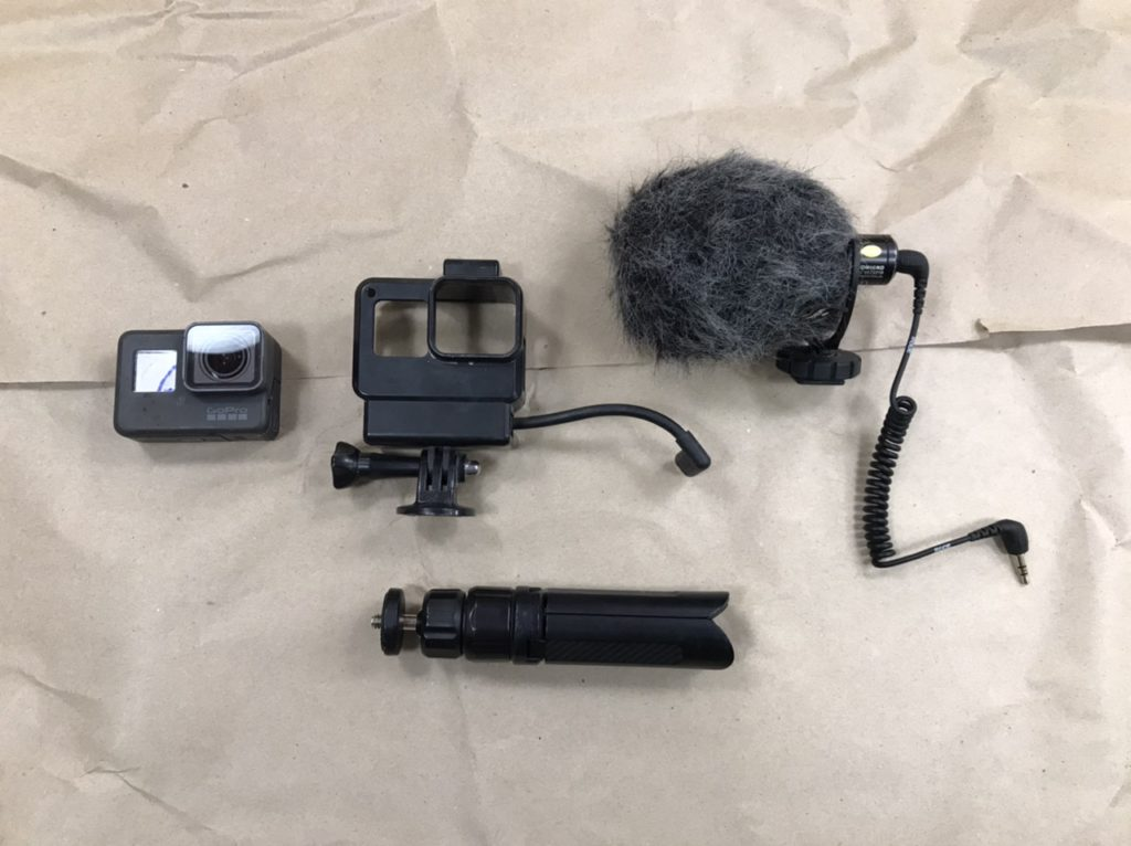 Минимальный набор аксессуаров для GoPro